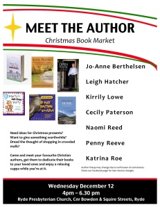 Meet the Author Flyer