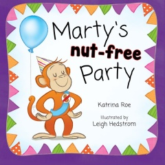 My picture book Marty's Nut-free Party is available from all good bookstores and from Wombat Books at www.wombatbooks.com.au